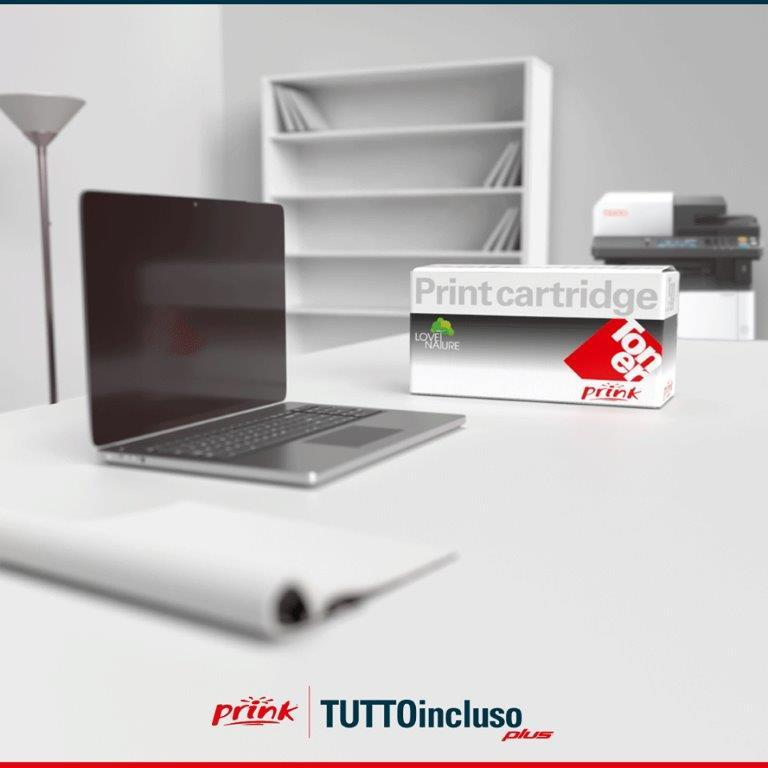 Prink TUTTOincluso Plus - Noleggio di stampanti e toner