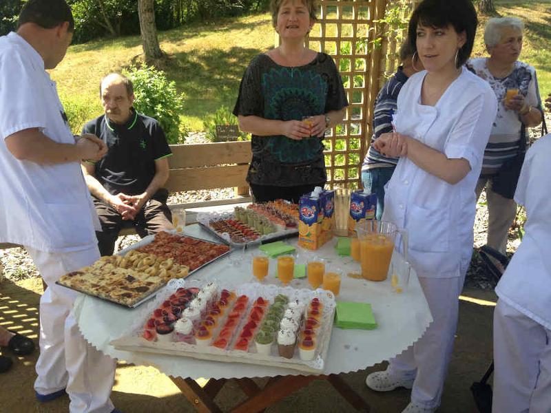 Jardin bienveillant & personnel soignant - Service