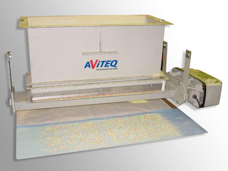 Strewing cover / Strewing plate - Spreading - Conveying technology