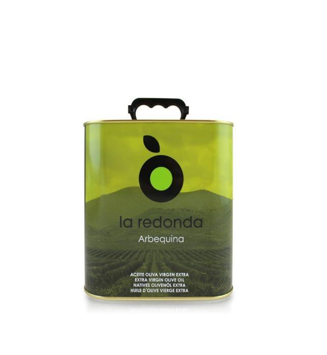 La Redonda – Extra vierge olijfolie 2,5 l - pure Arebequina olijfolie uit Zaragoza - noord Spanje