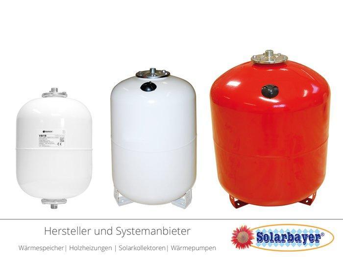 Solarbayer Ausdehnungsgefäße - Heizungs-, Solar- und Sanitär-Ausdehnungsgefäße