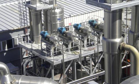 Hot break - Macchine per Estrazione e disattivazione enzimatica