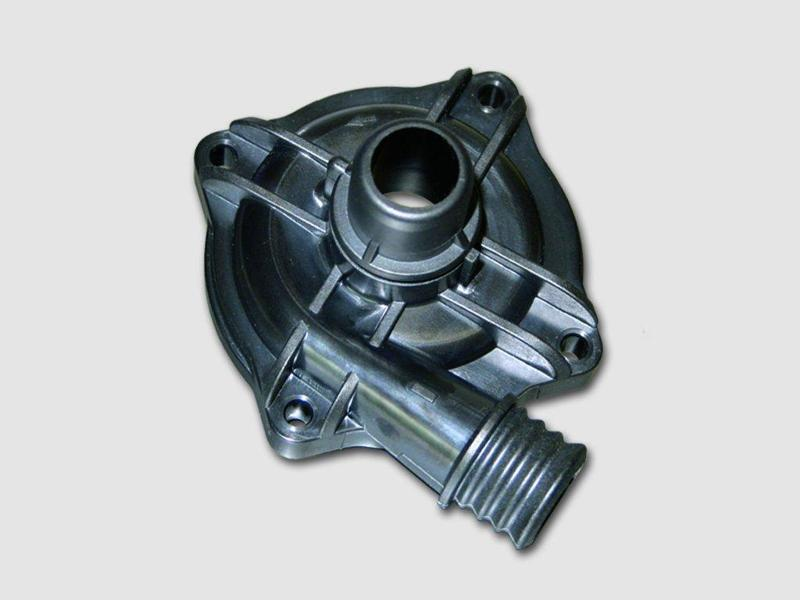 Plastic parts for electric motors