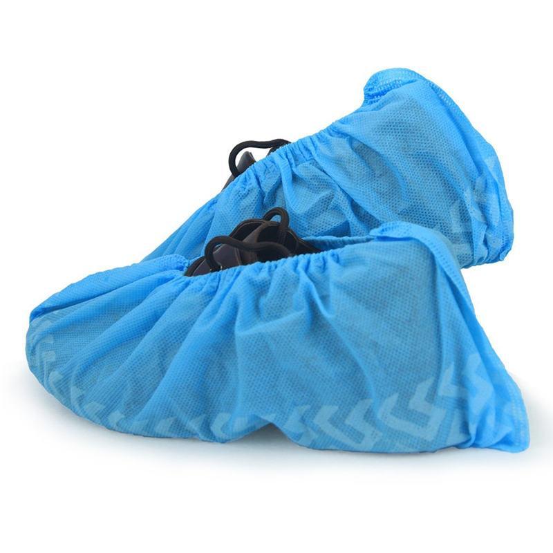 Cubre-sapatos en Polipropileno azul