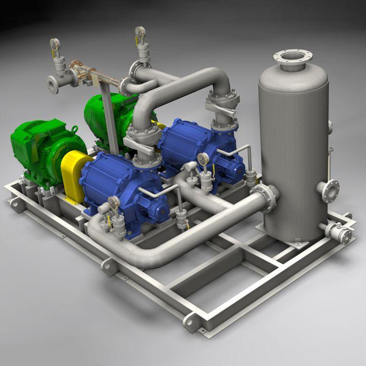 Engineered Systems - Packages for Deaeration of Injection Water on FPSO