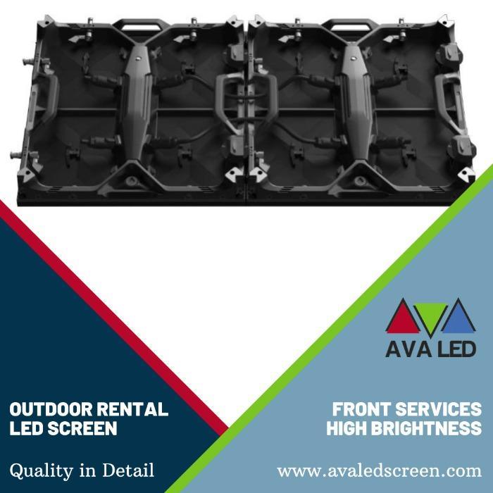 Elite CR Outdoor sērija - P2.97 - P3.91 - P4.81 Pārnēsājama korpusa AVA LED displeji