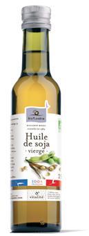 Huile de soja vierge - Epicerie salée