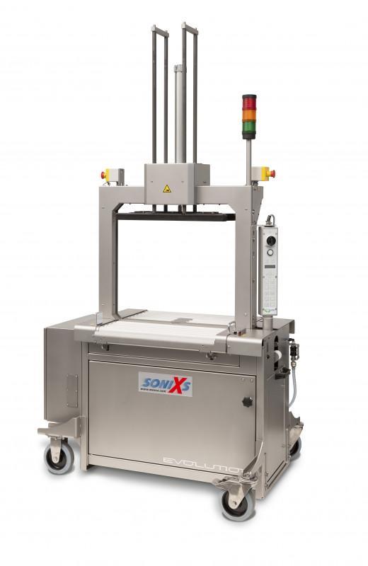 Evolution SoniXs MP-6 R-VA - Machine cercleuse inoxydable fullautomatique à rouleaux