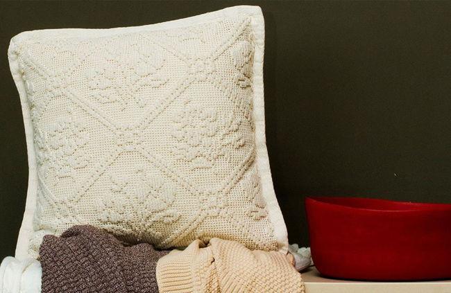 Almofadas decorativas Tricot -
