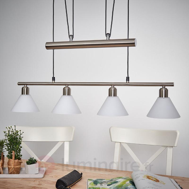 Suspension à hauteur réglable à plusieurs lampes - Cuisine et salle à manger