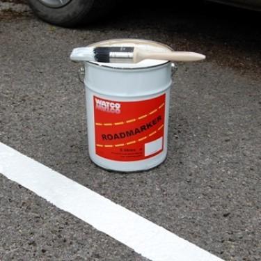 Peinture marquage au sol extérieure - Marquage Routier Réfléchissant