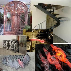 Portes & Portails Rampes & escaliers - Accessoire et motif de décoration