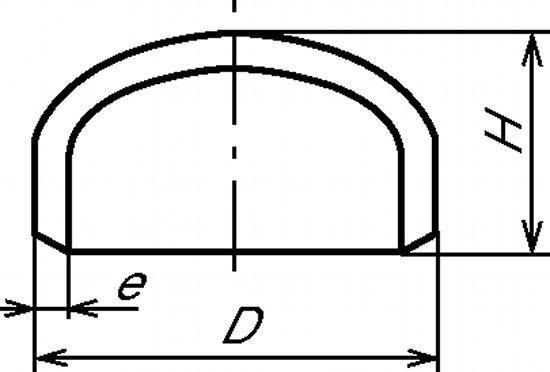 CAP ANSI SCHEDULE  - 10S (5946)