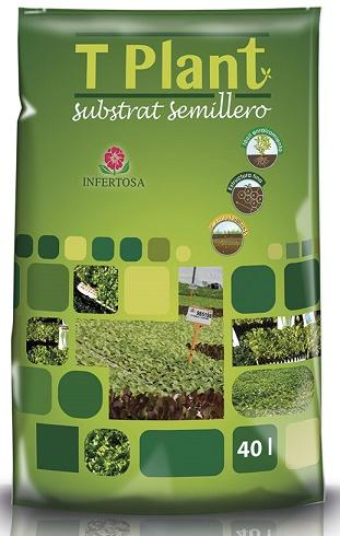 T-PLANT SUBSTRATE FOR SEEDLINGS - Substrate for seed sowing