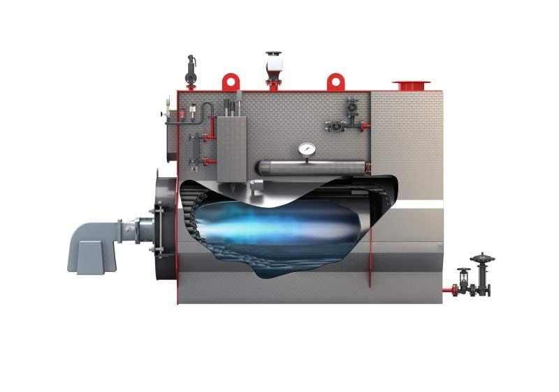 Dampfkessel - Typ U-MB - Dampfkessel / Gas / ÖL / Flammrohr - Typ U-MB