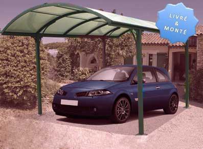 Abri voiture aluminium - null