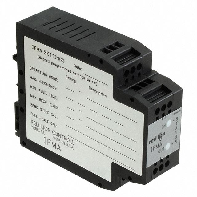 FREQUENCY TO ANALOG CONVERTER DC - Red Lion Controls IFMA0035