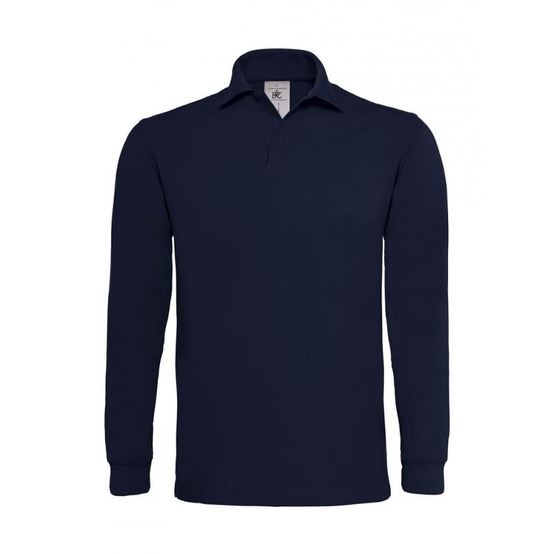 Polo Heavymill S-L - Manches longues