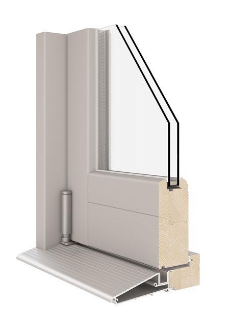 Falttür (FaltSchiebe System) - Falttür nach innen und nach aussen öffnend