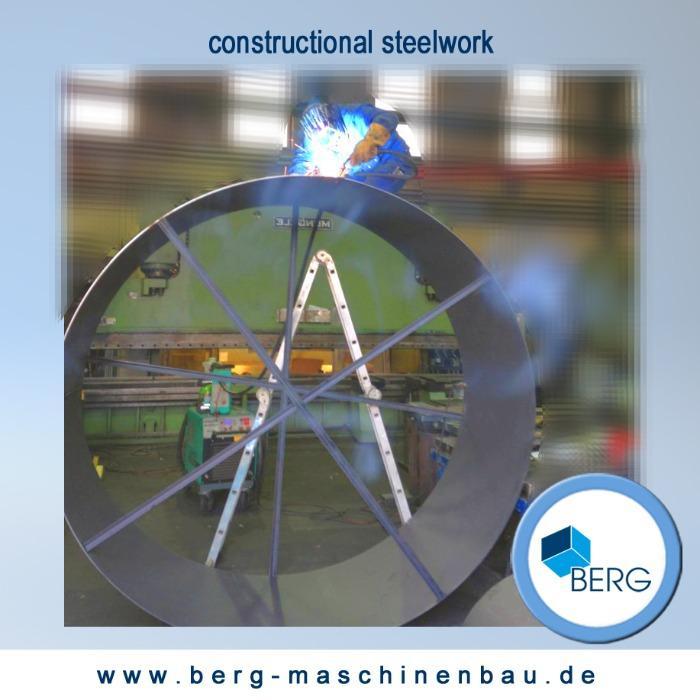 Constructional steelwork - we produce all kind of steel & metal constructions