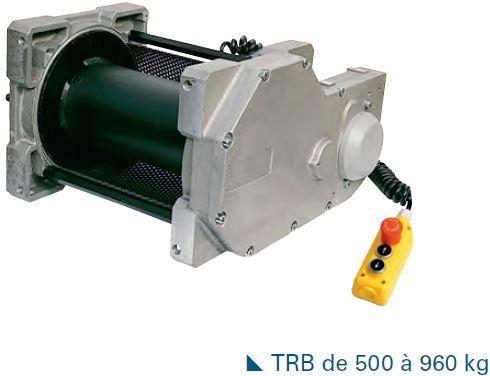 Treuils électriques - Treuil électrique 500kg à 960kg à commande directe - modèles TRB