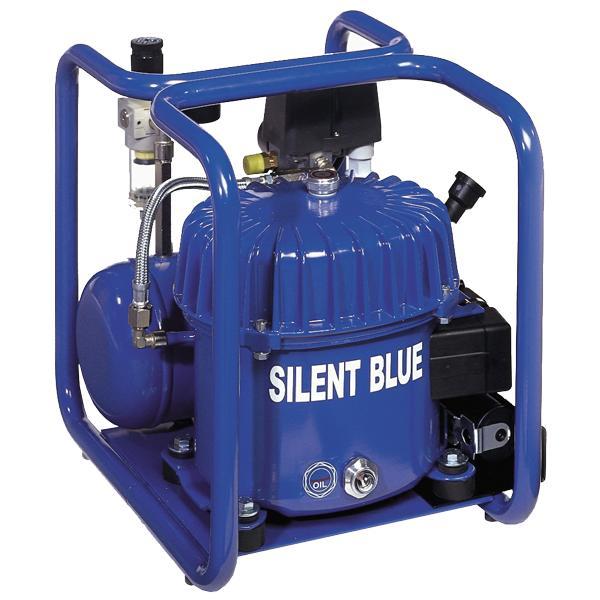 Silent Blue Flüsterkompressor TDC50/4 - Ölgeschmierte Flüsterkompressoren