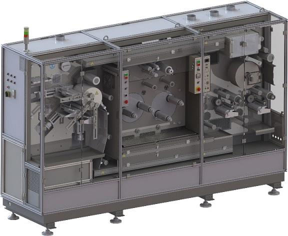 FGM-04  - Semi-automatic Flexographic Machine for Printing on Adhesive Tape