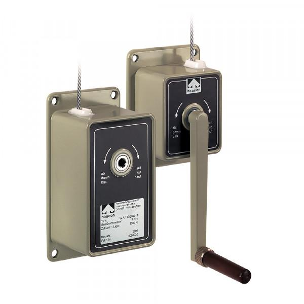 Handseilwinde - Handseilwinden für Wand- & Konsolenmontage von 50 kg bis 3000 kg