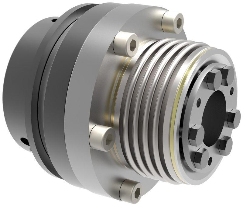 Safety coupling SKB-KS - Safety coupling SKB-KS for direct drives - with clamping ring hub