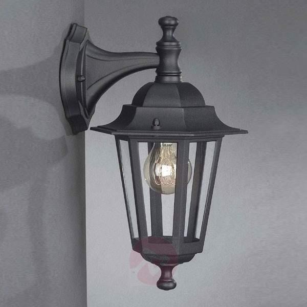 Outdoor wall lamp Peking black hanging - Outdoor Wall Lights