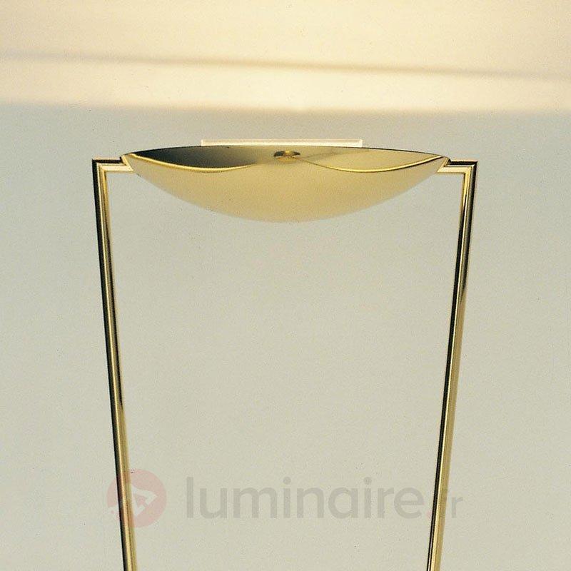 Lampadaire VICTORY couleur laiton - Lampadaires à éclairage indirect