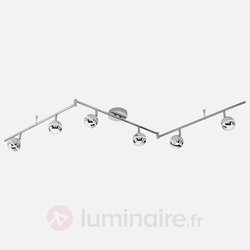 Plafonnier à 6 lampes LED GROOVE 4.2 watts - Plafonniers LED