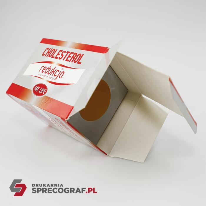 Boîtes en papier pour produits pharmaceutiques  - Boîtes en papier pour produits personnalisés