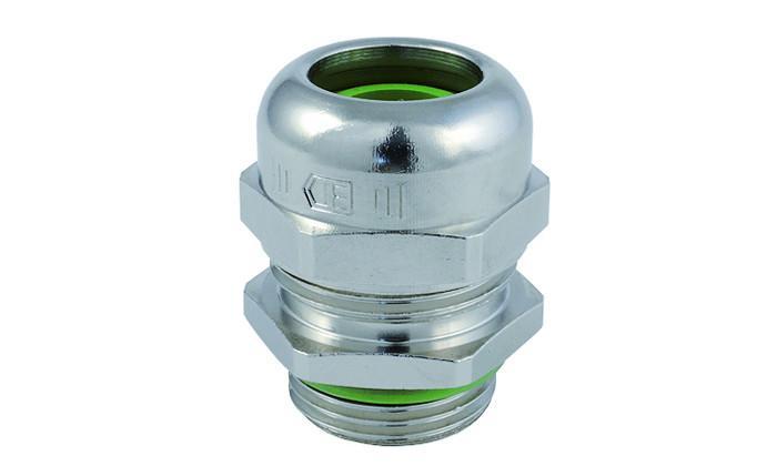 WADI heat pressacavi in ottone - in ottone nichelato con filetto metrico M12 - M63