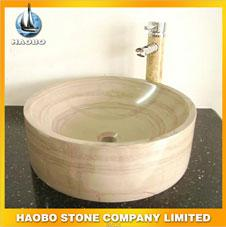 Good Quality Cheap Hotel Vessel Marble Stone Basins
