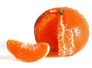 Mandarine - Jus, écorce et pulpe