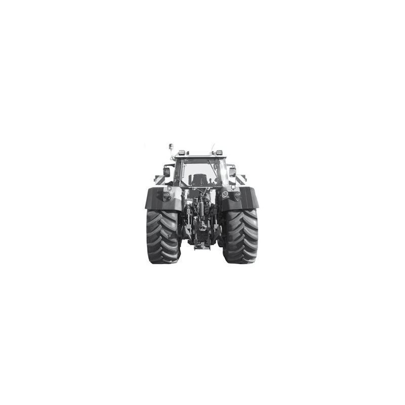 Vermogenbank Maha LPS ZW500 voor traktoren - Ophanging en remmen