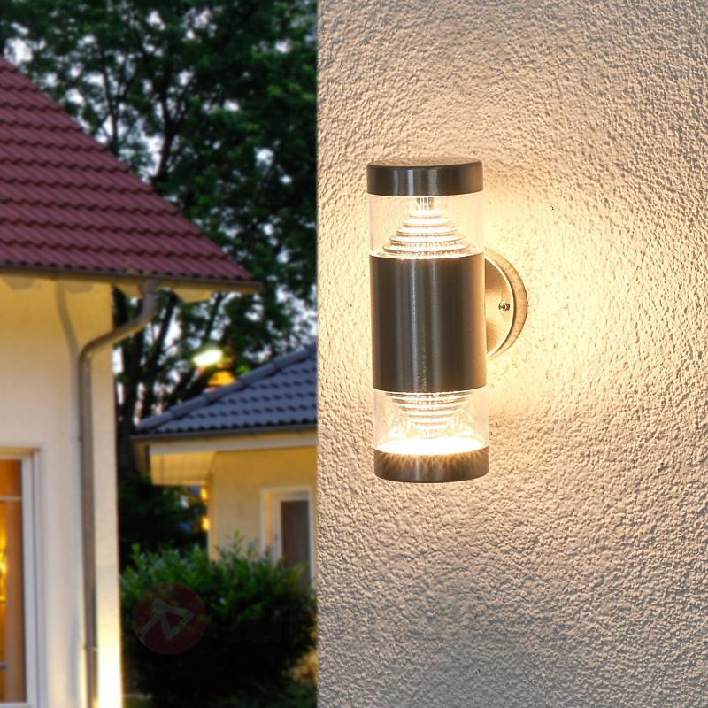 Applique extérieure LED 2 têtes Lanea - Appliques d'extérieur LED