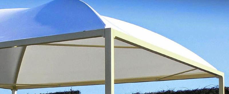 Tentes pagodes miniMAXX Ambre - Pagodes MiniMaxx en acier renforcé