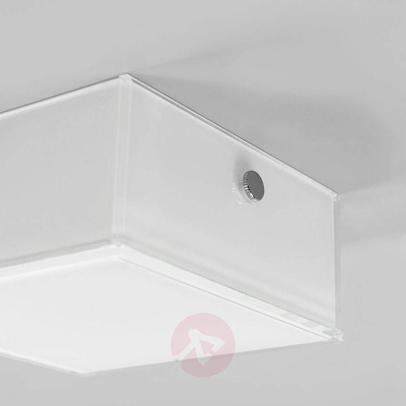 Angular LED ceiling light Quadro - Ceiling Lights