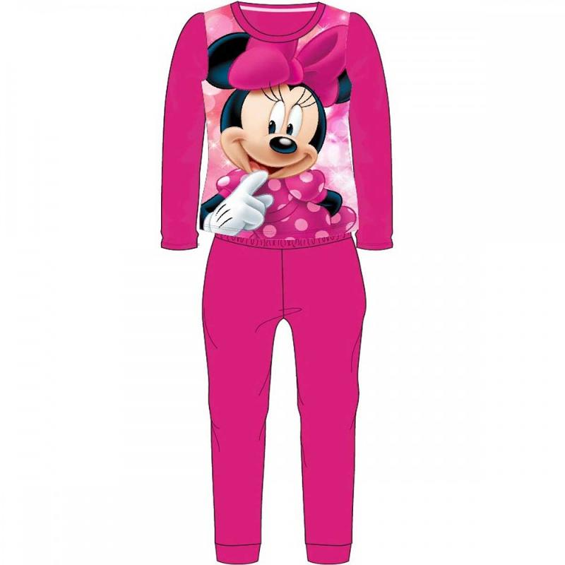 12x Pyjamas polaires Minnie du 2 au 8 ans - Pyjama