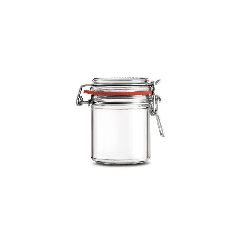 13 Jars with mechanical quill Ermetico167 ml - Glass jars Ermetico