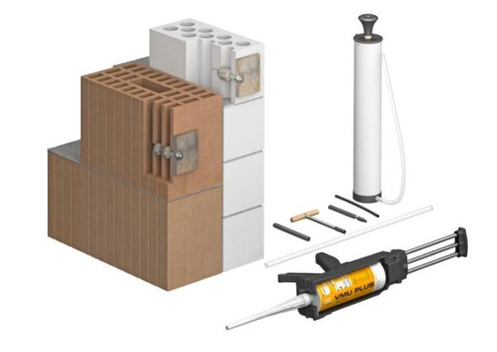 Injection mortar in cartridge, 280 ml - Injection mortar in cartridge, 280 ml, Styrene-free,