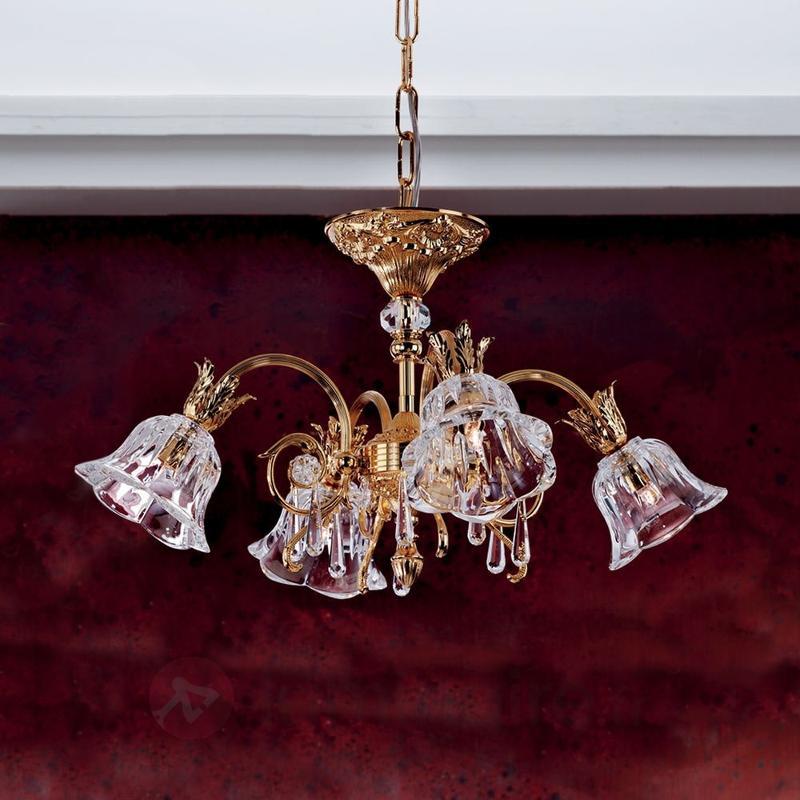 Lustre ornemental KAISA, 24 carats - Lustres classiques,antiques
