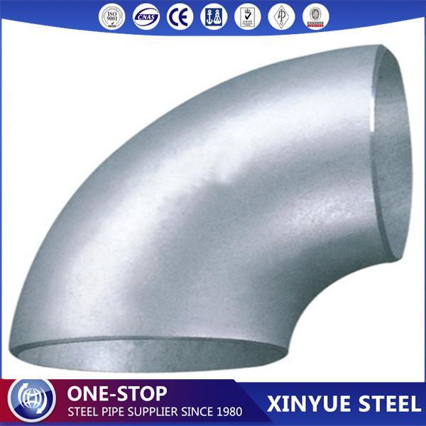 A420WPL6 Carbon Steel Pipe Fittings Butt Welded 90DEG LR elb