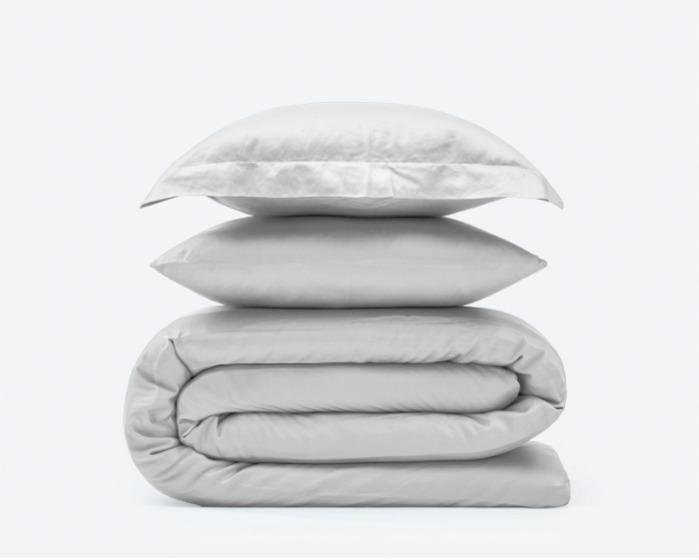 Satin duvet cover and pillow cases - 100% Egyptian cotton satin bed linen