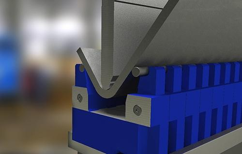 Adjustable patented dies for press brakes - Professional solutions for thick and heavy duty bending