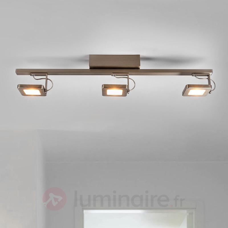 Plafonnier LED Kena - spots inclinables, variable - Plafonniers LED