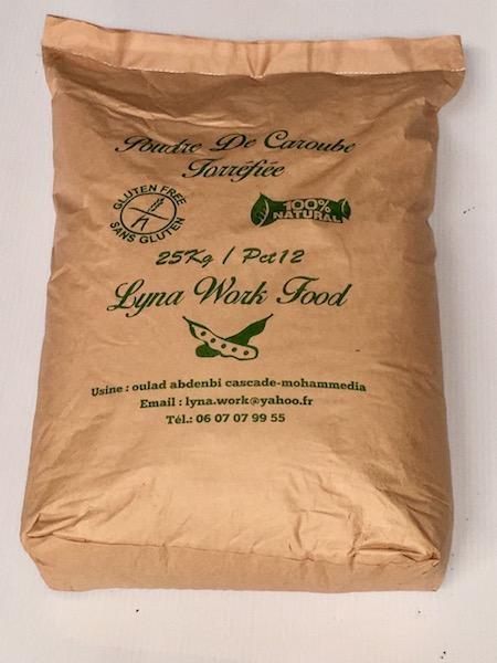 harina de algarrobo industrial - Tres diferentes colores