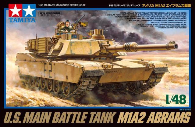 Modelisme Tank - M1A2 ABRAMS Us Main Battle